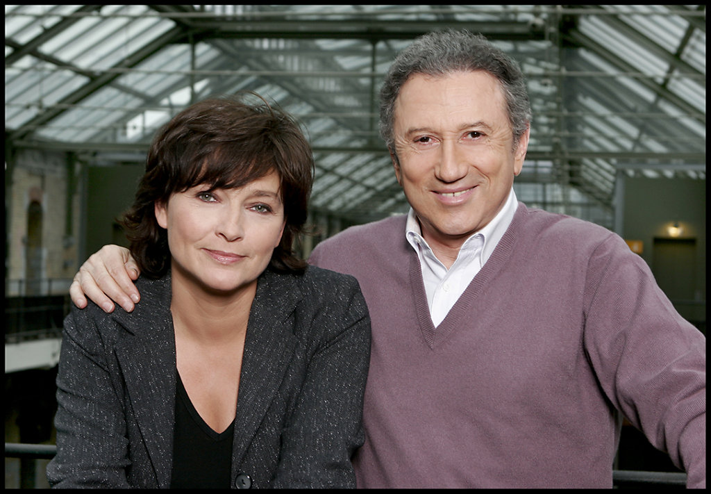 Fabienne Van Den Meershe & Michel Drucker