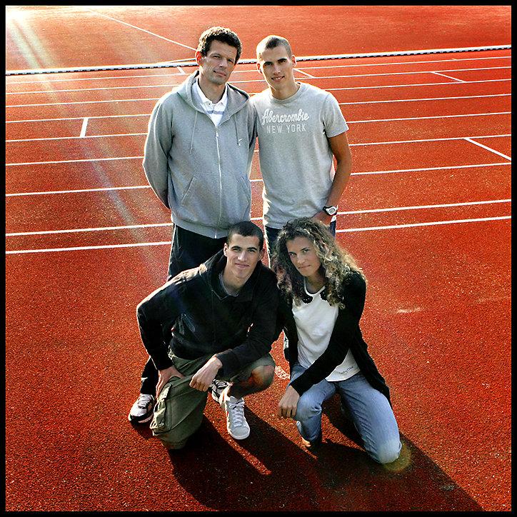 Family Burlée - Professional athletes